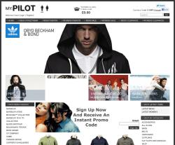 Pilot Clothing coupon codes