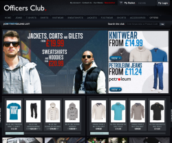Officers Club coupon codes