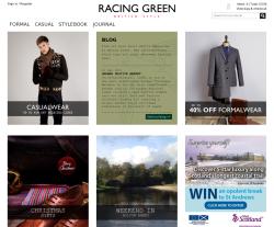 Racing Green coupon codes