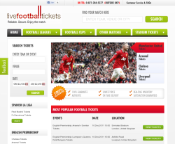Live Football Tickets coupon codes