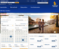 Singapore Airlines coupon codes