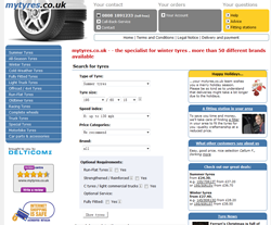 My Tyres coupon codes