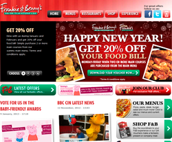 Frankie And Bennys Discount Codes