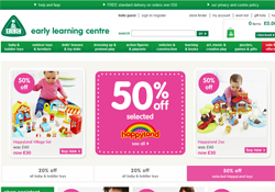 Early Learning Centre coupon codes