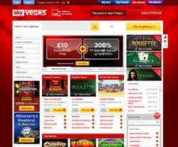 Sky Vegas coupon codes