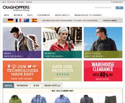 Craghoppers coupon codes