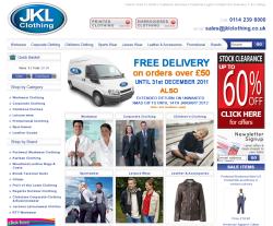 JKL Clothing coupon codes