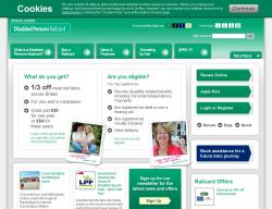Disabled Persons Railcard Discount Codes