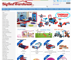 Big Red Warehouse coupon codes