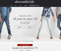 Abercrombie Kids Voucher Codes