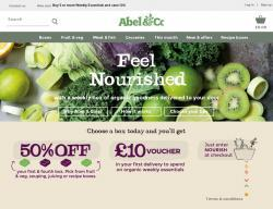 Abel and Cole coupon codes
