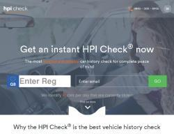 HPI Check Vouchers