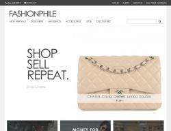 Fashionphile Website View