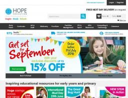 Hope Education Voucher Codes