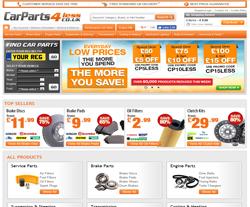 CarParts4Less Vouchers