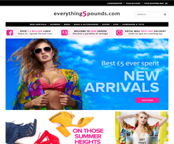 Everything5pounds Voucher Codes