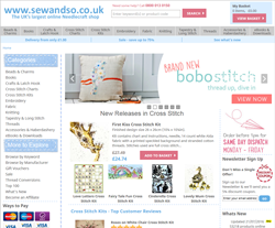Sew and So Voucher Codes