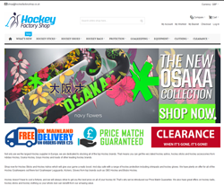 Hockey Factory Shop Vouchers
