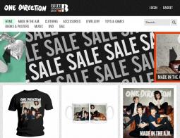 One Direction Store coupon codes