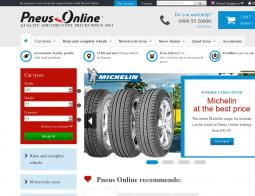 Pneus Online coupon codes