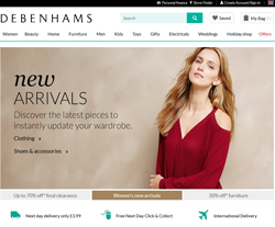 Debenhams Vouchers