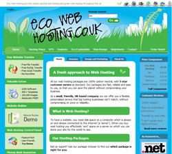 Eco Web Hosting Discount Codes