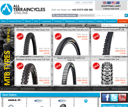 All Terrain Cycles Discount Codes