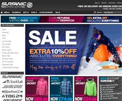 Surfanic Discount Codes