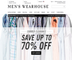 Men's Wearhouse promo code