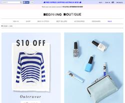 Beginning Boutique Discount Codes