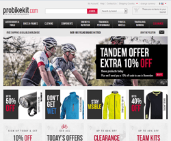 Try This ProBikeKit US Coupon to Get up to 20% Discount on Women's Gloves Be ready to enter ProBikeKit today, and grab astonishing deals and offers on a wide range of cycling clothing, cycling accessories, cycling components and bikes!