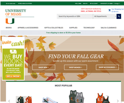 University of Miami Bookstore Promo Codes