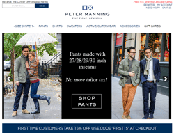 Peter Manning NYC Promo Codes