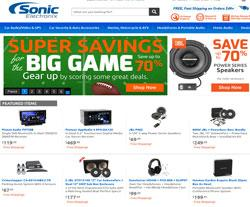 Sonic electronix coupon code 2018
