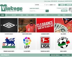 Vintage Football Shirts Discount Codes