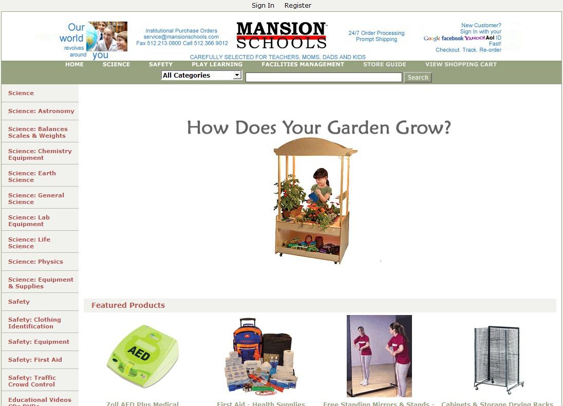 Mansion Schools Coupon promo code