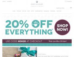 Hand on Heart Jewellery Discount Code