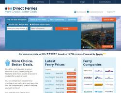 Direct Ferries Discount Codes