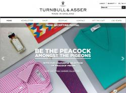 Turnbull & Asser Discount Codes promo code