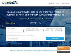 ShuttleFare Coupons promo code
