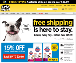 My Pet Warehouse Promo Codes