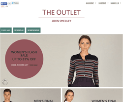 John Smedley Outlet Discount Codes