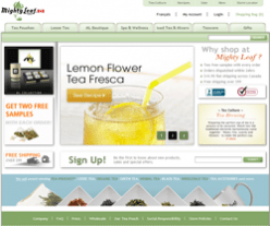 Mighty Leaf Tea Canada Promo Codes
