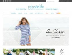 Cabana Life Coupons promo code