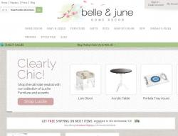 Belle and June Promo Codes promo code