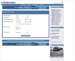 Auto Europe Discount Codes