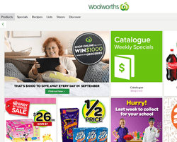Woolworths Coupons