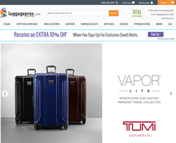 Luggage Pros Coupon & Promo Codes. 7 verified offers for December, Coupon Codes / Travel / Luggage / Luggage Pros Coupon Code. Add to Your Favorites. We have 7 Luggage Pros promo codes for you to choose from including 2 coupon codes, 4 sales, and 1 free shipping promo code.