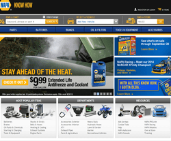NAPA Auto Parts Coupons