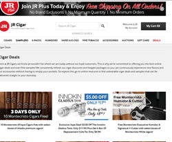 JR Cigar Promo Code